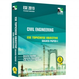 ESE 2019 - Civil Engineering ESE Topicwise Objective Solved Paper - 1